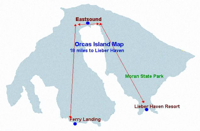 Language In 45 And 47 Stella Street: Orcas Island Map, Orcas Island Orientation Map